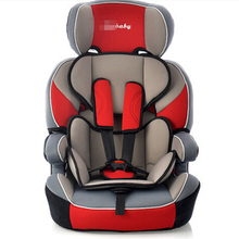 Detachable 4 Colors Baby Car Seats with 3 Points Harness and Suspension Function for Baby from 9 months to12 years old(China (Mainland))