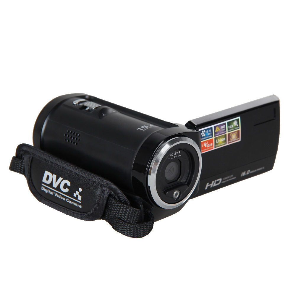 "Full HD 720P 16MP Automatic Digital Camera Video Camcorder Camera DV DVR 2.7""TFT LCD 16x ZOOM Camera(China (Mainland))"