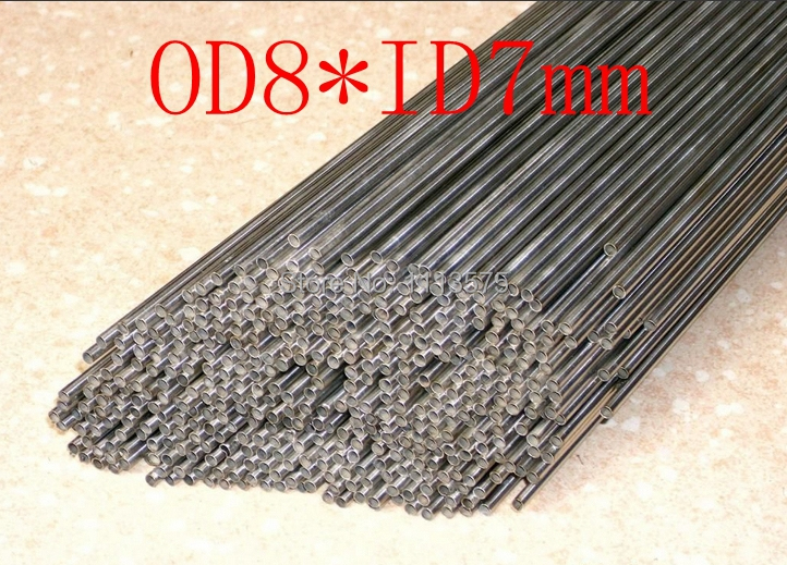 OD8XID7mm,304 321 316 thick wall or thin wall small tube corrosion resistance to acid and alkali Capillary stainless steel pipe(China (Mainland))