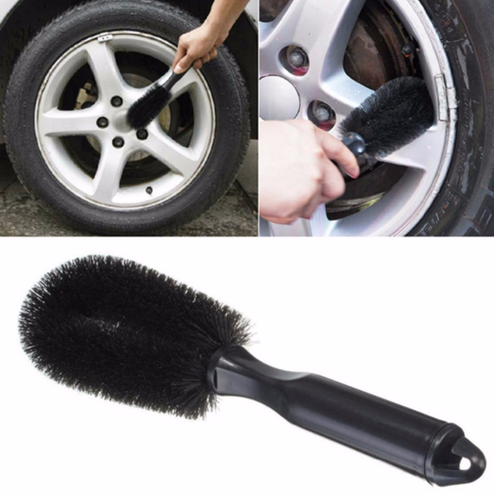 Wheel Tire Rim Scrub Brush Car Truck Motorcycle Bicycle Washing Cleaning tool(China (Mainland))