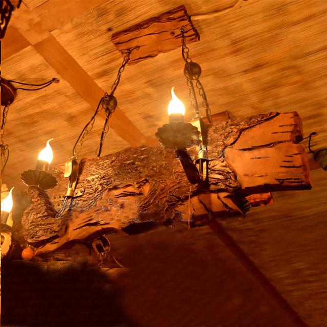 Koop china leverancier industri le vintage drijfhout frame opknoping lamp - Licht industriele vintage ...