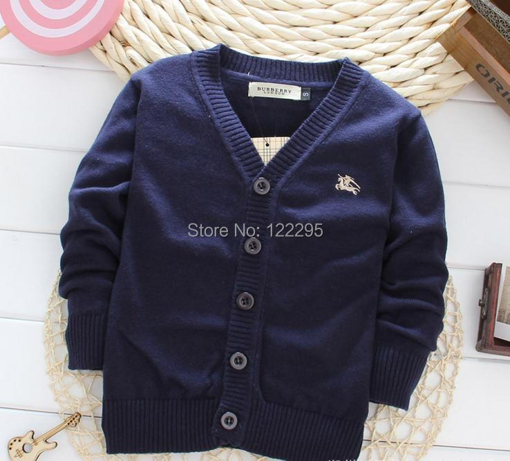 Kids Sweater / famous boys spring and autumn 100% knit sweater coat, Everything for children Clothing and accessories(China (Mainland))
