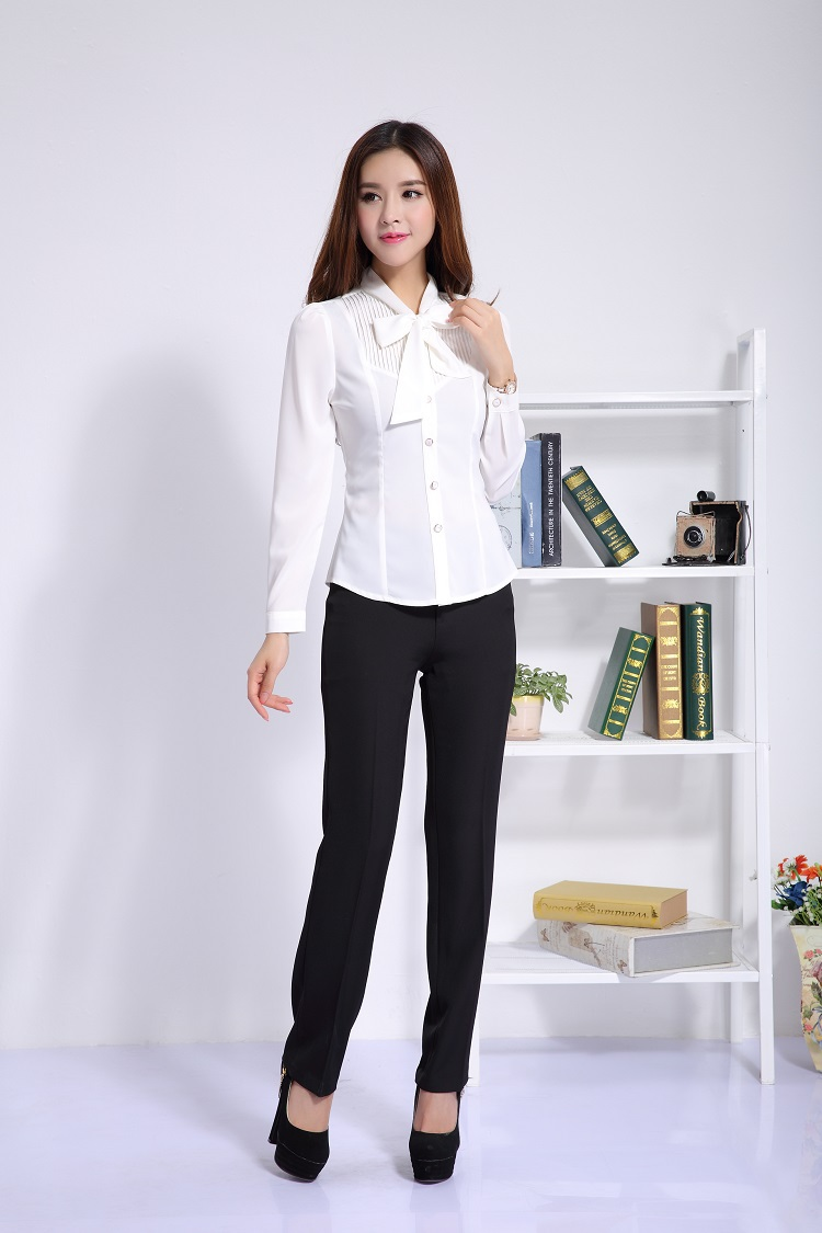 Pin ladies office uniform designs pictures on pinterest for Office uniform design 2015