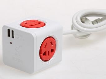 Здесь можно купить  KYFEN/ Qingfeng brand outlet socket QF-M11C 3 meters to expand cube stacked USB socket  Свет и освещение
