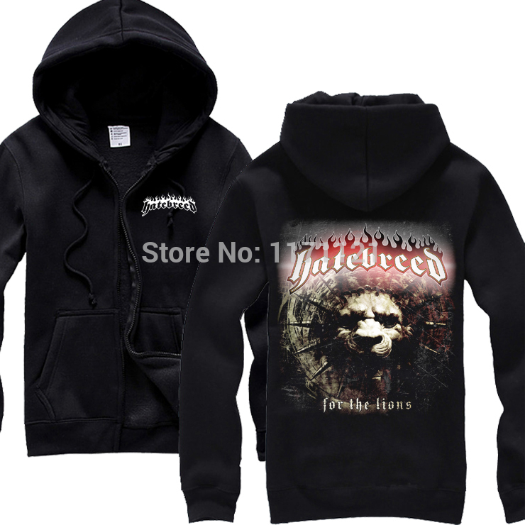 Knights of Rock Hatebreed - Fotos freeshipping Death metal hardcore Men In BlackHoodieОдежда и ак�е��уары<br><br><br>Aliexpress