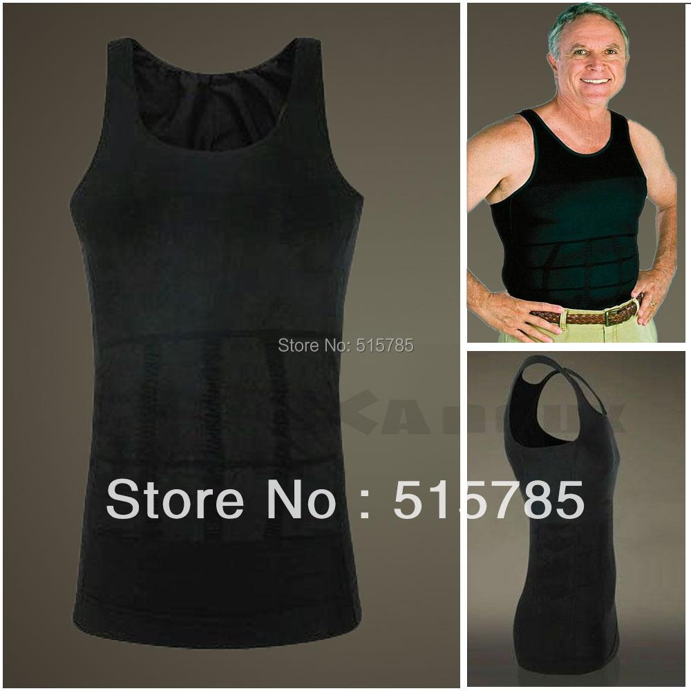 Mens Bodysuit Shirt Shaper Mens Bodysuit Belly