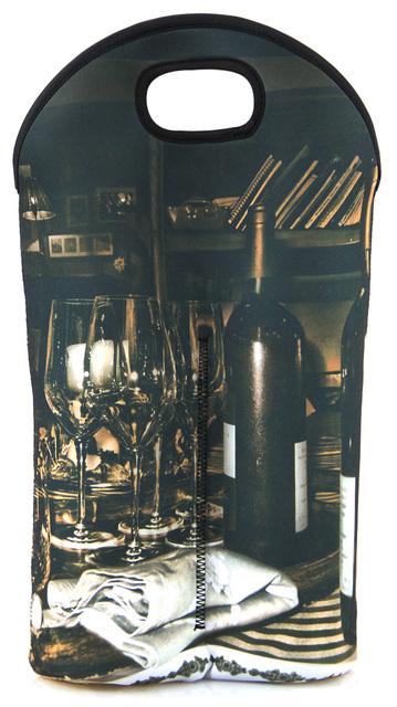 Рекламные неопрена бутылки вина держатель, Бутылка шампанского tote