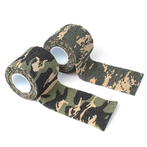 5cmx4 5m Army Camo Outdoor Sports Hunting Shooting Tool Camouflage Stealth Tape Waterproof Wrap Durable Hotsale