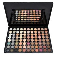 Concealer Makeup 88 Colors Pigment Glitter Eyeshadow Cream Palette Set Mineral Beauty Products Eye Liner Primer Kit(China (Mainland))