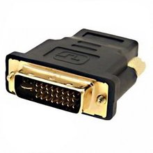 Free Shipping Dropship 1 Piece New DVI-I Dual-Link 24+5 Male to HDMI Female Adapter # 245
