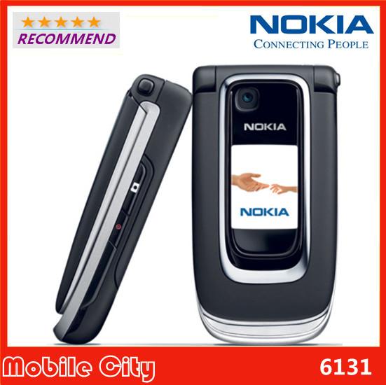 Original NOKIA 6131 Refurbished Unlocked Mobile phone GSM Camera FM Good Quality cheap Phone Free Shipping(China (Mainland))