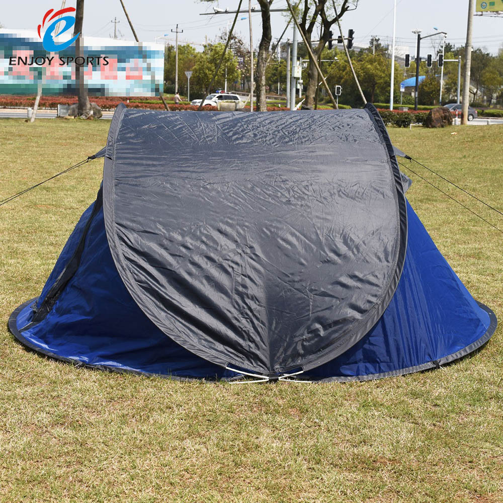 Automatic Waterproof Outdoor Camping Tent Hiking Beach Tent Sun Shade Pop Up Tent 3-4 Person(China (Mainland))