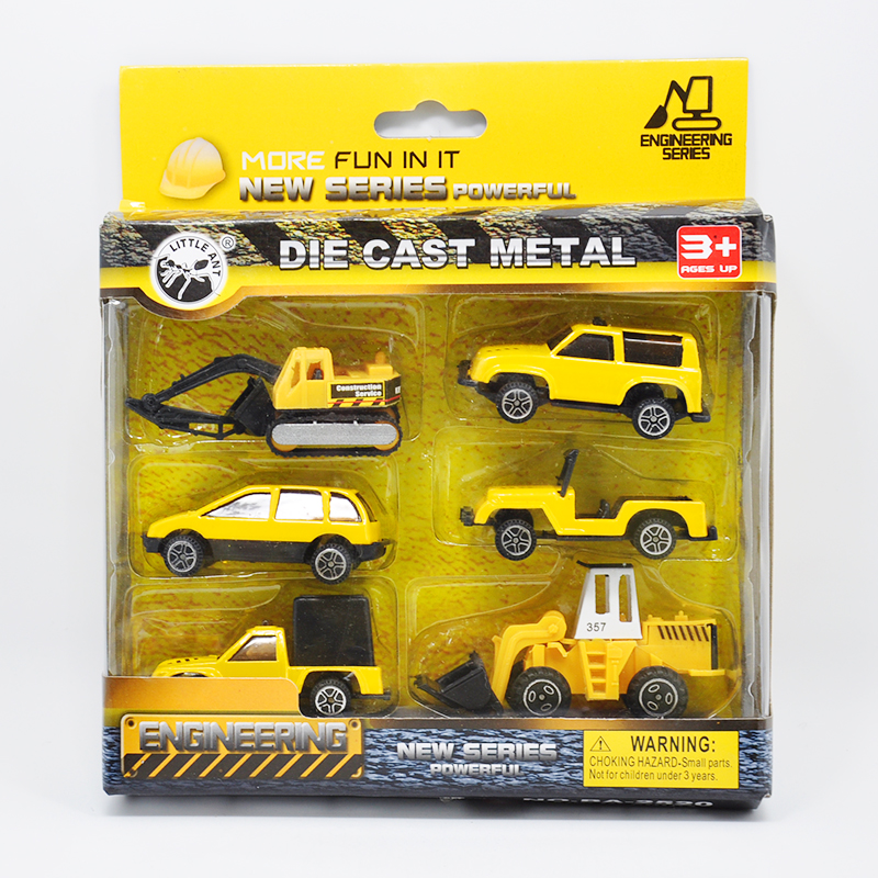 Hot Sale Fancy Mini Cars Set Safe Plastic Race Cars Truck and Machinery Cars Best Gift Especially for Boys Kids Toys Car Models(China (Mainland))
