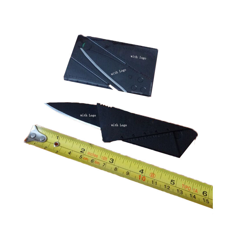 Credit Card Knife Folding Blade Knife Pocket Mini Camping Outdoor Pocket Tools Folding Tactical Knife(China (Mainland))