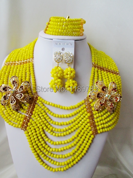 Preferred Special offer Nigerian Crystal Beads  Women Fashion Beads Jewelry Set Wedding Bridal Jewelry Set Free Shipping A-11431<br><br>Aliexpress
