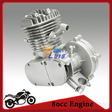 New 38MPH 80cc 2-Stroke Gasoline Engine Single Cylinder for v-Frame Cruiser Chopper Mountain Bike Road Bike Bicycle