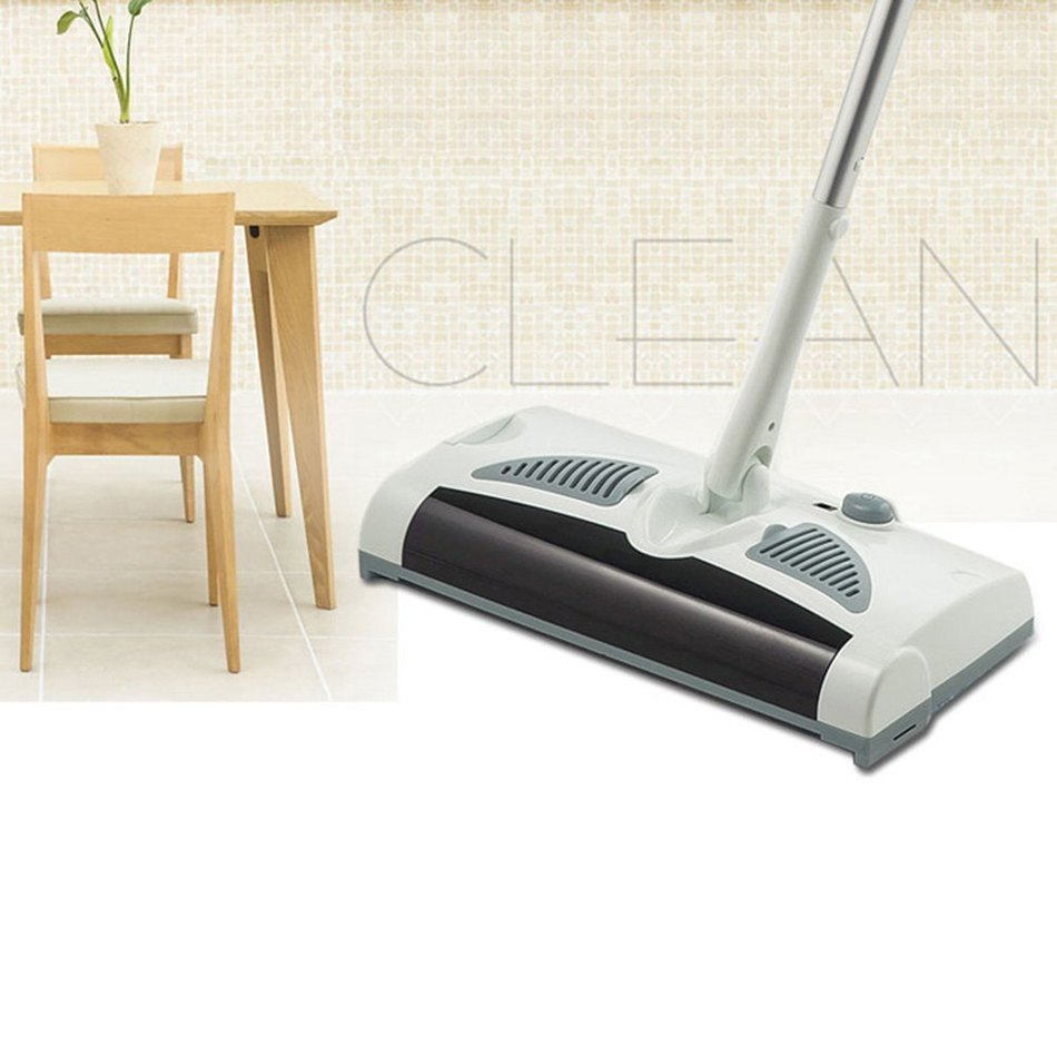 Electric Robot Cleaner 2 in 1 Swivel Cordless Drag Sweeping All-in-one Machine Automatic Mop house cleaning electric broom(China (Mainland))