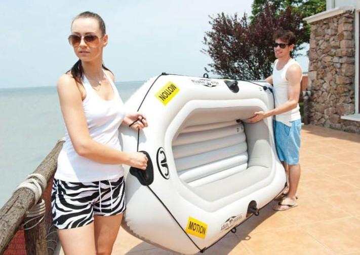 motor inflatable pvc boat china marine rowing inflatable rubber catamaran paddle rib boat pvc inflatable-pvc-boat pedal kayak(China (Mainland))