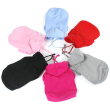 Buy Pet Puppy Dog Clothes Coat Hoodie Sweater Costumes Dogs Jackets S M L XL XXL 7 Colors for $2.89 in AliExpress store
