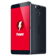 "Original Ulefone Power 5.5"" FHD 1920*1080 4G Smartphone Android 5.1 64bit MT6753 Octa Core  3GB+16GB 5MP 13MP 6050mAh Cellphone(China (Mainland))"