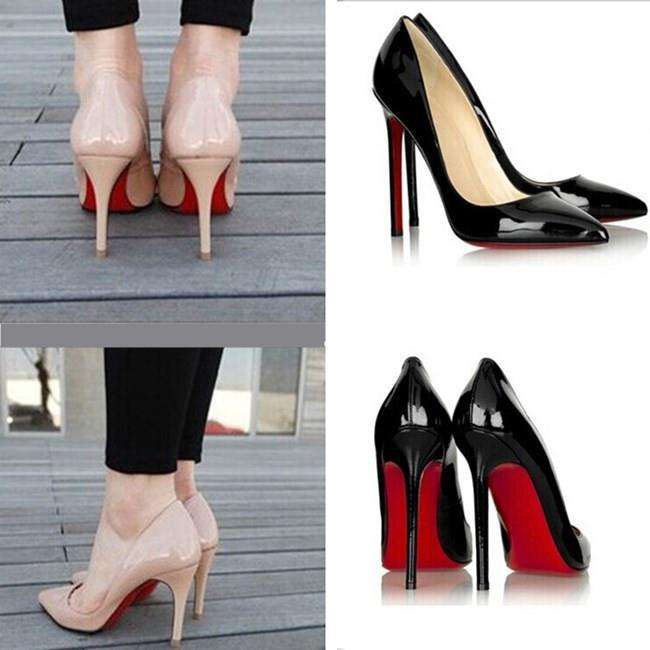 Гаджет  2015 hot sale Brand  Shoes Red Bottoms High Heels Women Bridal Sexy Woman Pumps Ladies Pointed Toe High Heels Shoes size 35-41 None Обувь
