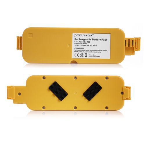 2x 14.4V 3500mAh Ni-MH Batteries For iRobot Roomba 400 405 410 415 416 418 4000(China (Mainland))