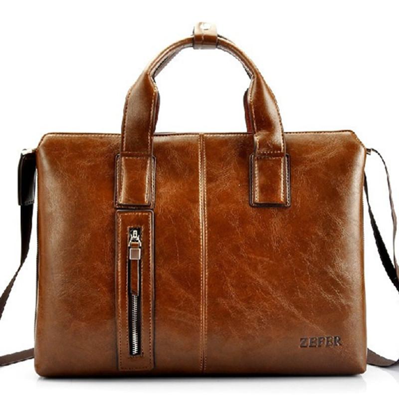 Excellent gift for men! HOT men bag,genuine leather business