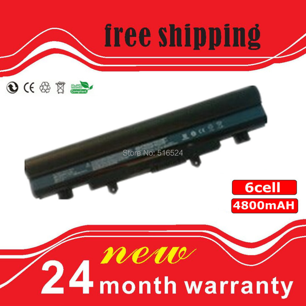Laptop Battery Acer Aspire E15 E5-572G-593Y Extensa 2509 2510 2510G Series - The cheapest laptop battery supplier store