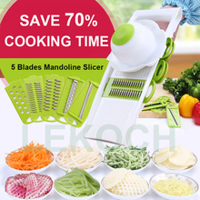 Multifunctional Mandoline Slicer with 4 Interchangeable Stainless Steel Blades -Vegetable Cutter Peeler Slicer Grater (China (Mainland))