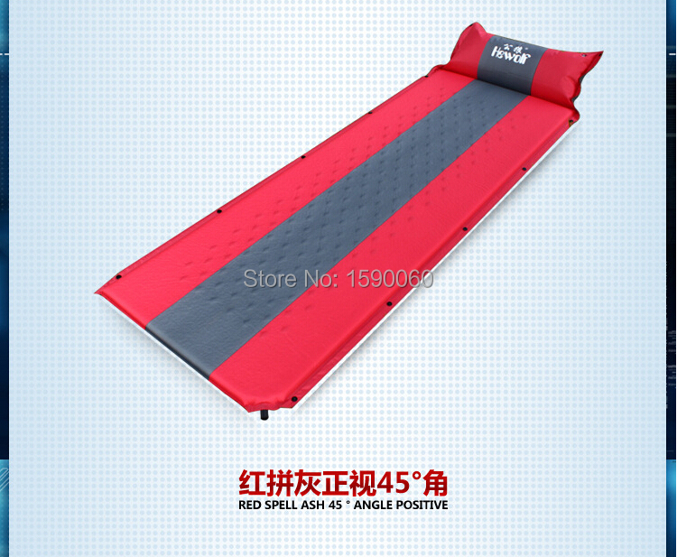 Lightweight automatic inflatable single person camp pad for Best mattress for lightweight person