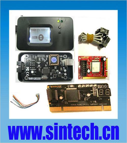 PCI/mini PCI-e/mini pci/LPC Port PC motherboard Diagnostic Test tester Debug Post Card, for Laptop and Desktop(China (Mainland))