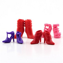 12pairs Colorful Assorted shoes for Doll with Different styles Fashion Cute Newest(China (Mainland))