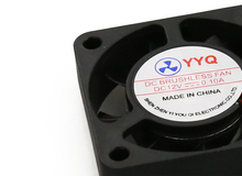 2 Pcs Lot 3D printer Parts 40 40 DC 12V 0 1A Fan for MakerBot RepRap