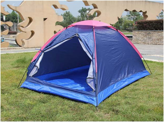 Hot sell Oxford cloth Lovers double person Outdoor casual camping tent single layer 2 person tent FS10193 Free Drop Shipping(Hong Kong)