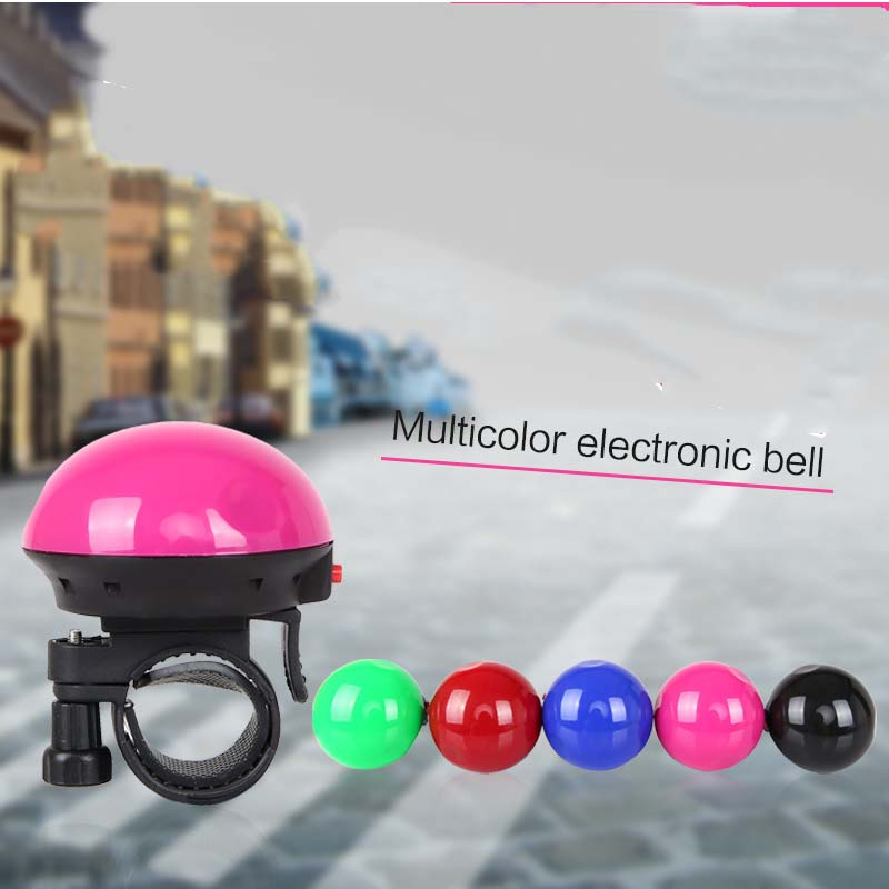 2016 New Design Riding Bicycle Bike Cycling Bell Electronic Horn Mushroom Bell Mountain Bike Bell Bicycle Accessorie(China (Mainland))