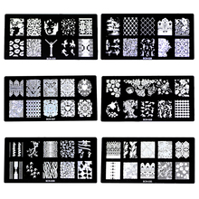 New arrival nail stamping plates 30 Designs optional 1 pcs stamp template Nail Art Image stamper Plates stencil Na4007(China (Mainland))