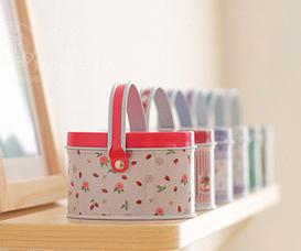 Fashion mini Metal colorful iron candy Gift storage box Container Storage mix order 12pcs/lot free shipping(China (Mainland))
