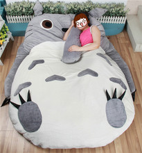 Large Size Big Totoro Bed Cushion Mattress