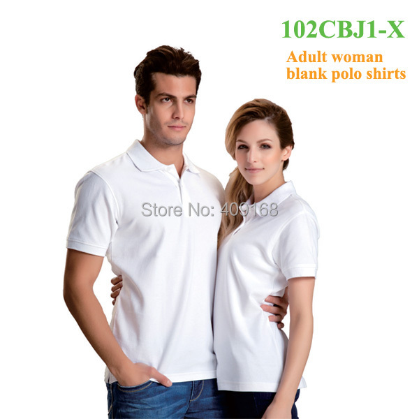 High quality new style couple polo shirts woman organic for Couple polo shirts online