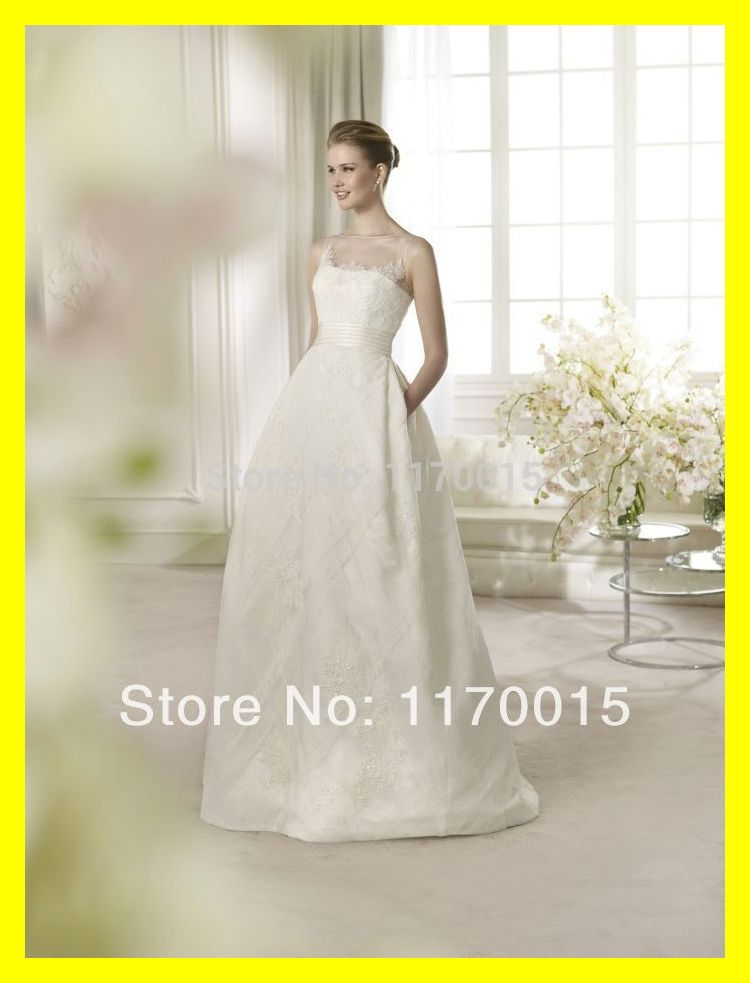 Informal plus size wedding dresses gold one shoulder dress for Cheap wedding dresses tea length