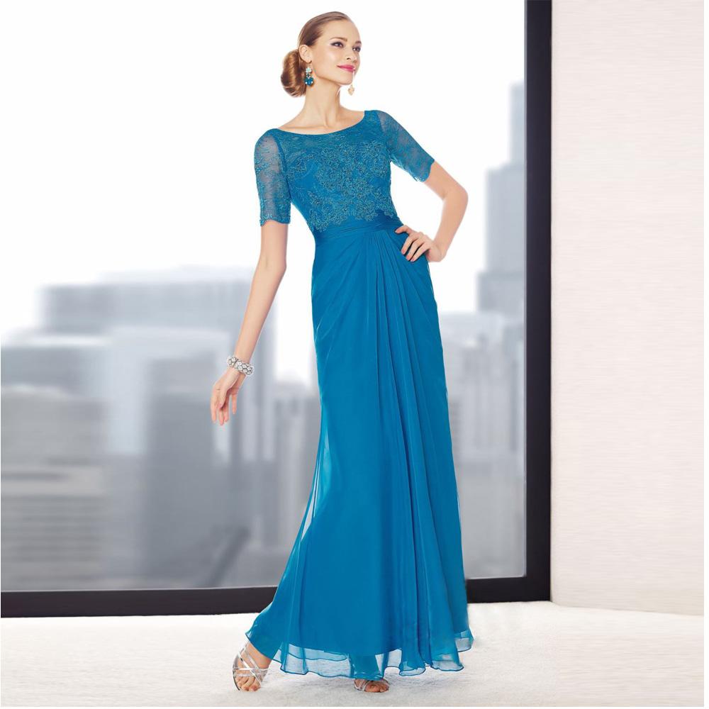 Mother Bride Dresses Sale: Hot Sale Lace Blue 2016 Mother Of The Bride Dresses Short