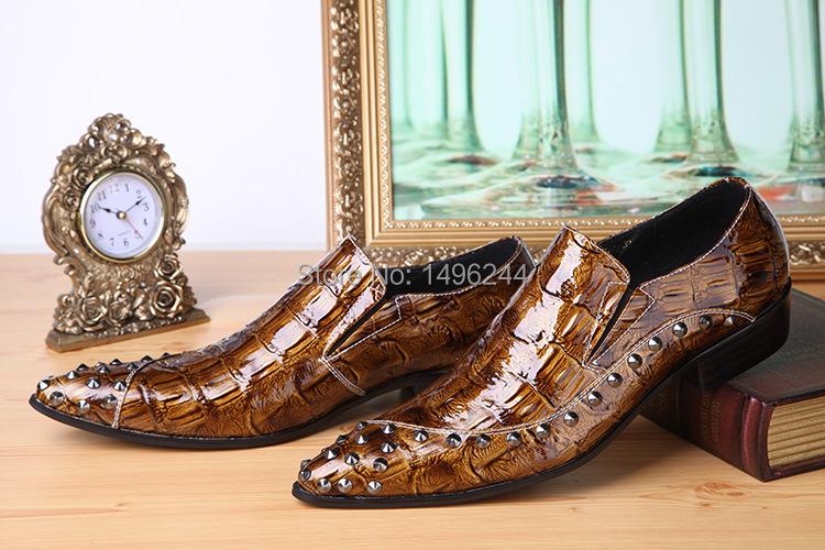 Фотография NEW Italian Style genuine leather shoes men