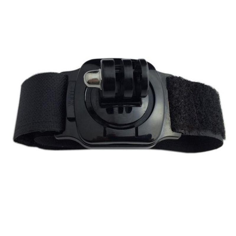 For Gopro Wrist Strap 360 Degree Rotating Adjustable Belt Mount For GoPro HD Hero 4 3