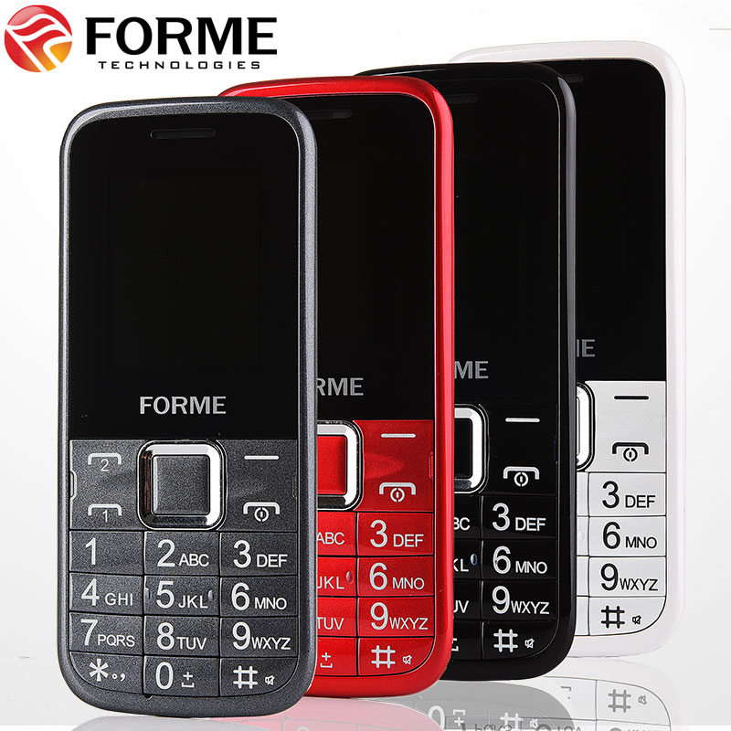 In Stock! FORME K08 dual sim bluetooth telefon torch cheap cellphone original cell phone unlocked mobile phone(China (Mainland))