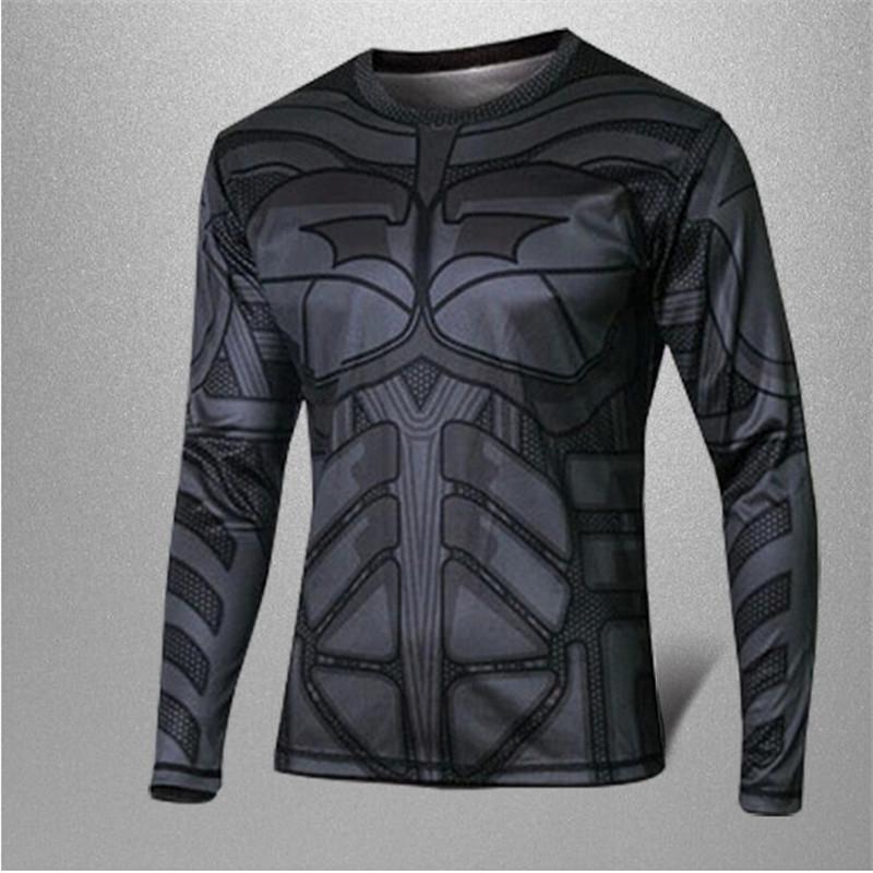 Factory sales wholesale 2015 new marvel comics superhero batman avengers captain America sports T-shirt(China (Mainland))