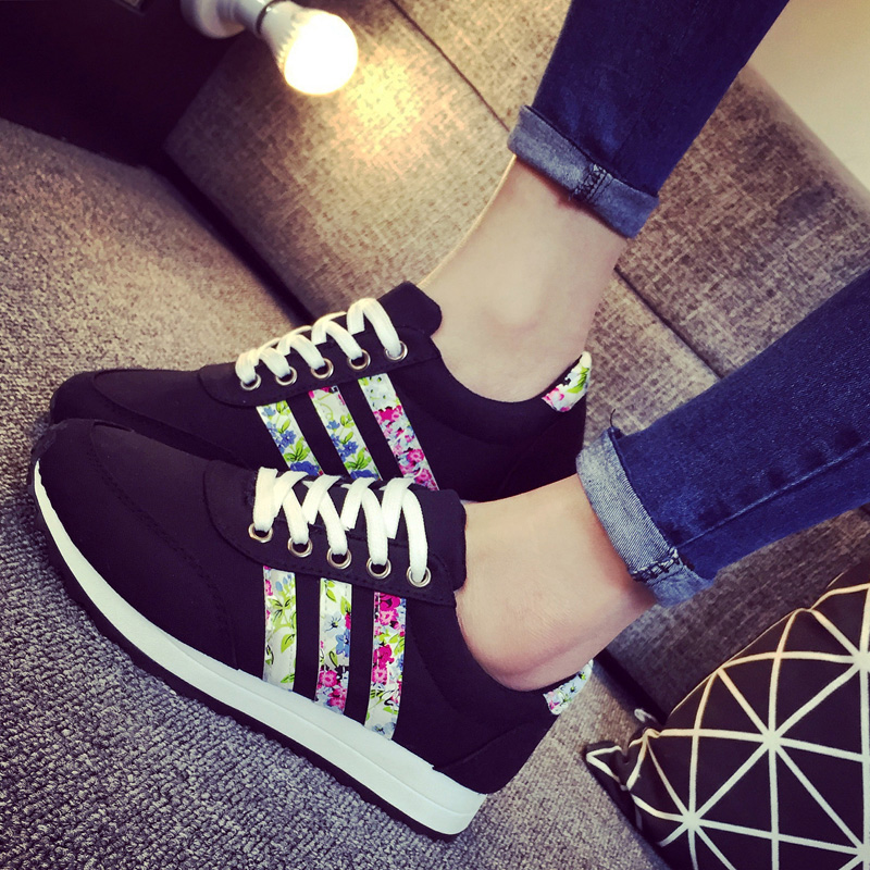 2015 New Women Sneakers Fashion Sports Casual Shoes Low Canvas Shoes Woman Air Chaussure Femme Ventilation Slip Zapatos Mujer(China (Mainland))