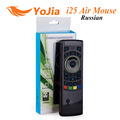 Genuine Russian i25 K25 Fly Air Mouse 2 4GHz Wireless Keyboard IR Remote Motion sensing