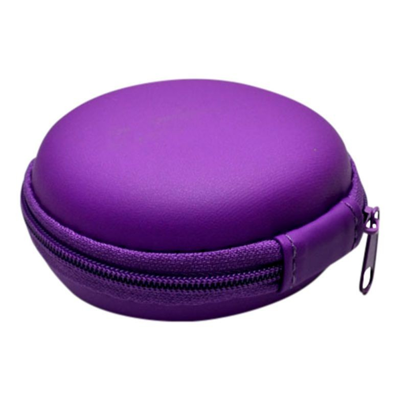 image for 1Pcs SD Card Earphone Headphone Earbud Carrying Storage Bag Pouch Hard