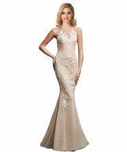 Elegant Evening Dresses High Quality Sexy Sweetheart Neck Refinement Appliques Mermaid Formal Dress Custom Made(China (Mainland))