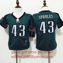 100% stitched baby Philadelphia Eagles toddler 7 Sam Bradford 11 Tim Tebow 29 DeMarco Murray 43 Darren Sproles(China (Mainland))